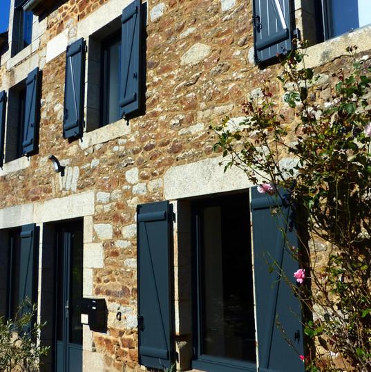 Rénovation vente volets maison Rennes