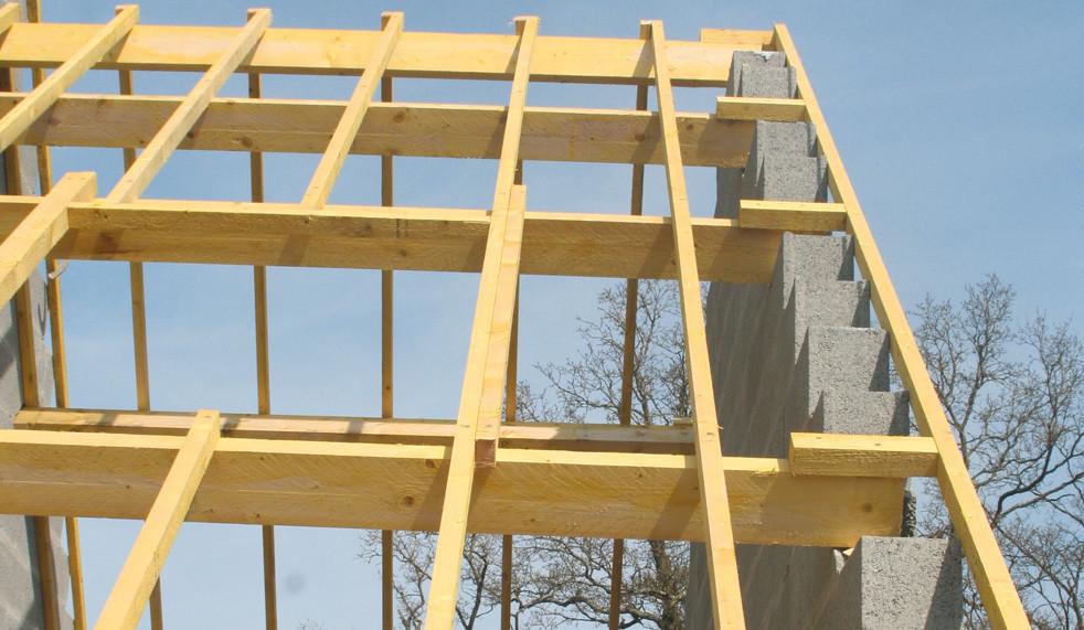 Charpente construction maison individuelle