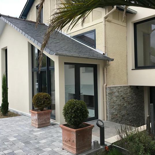 Création fenêtres sur mesure maison Rennes
