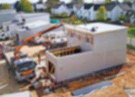 Construction maison modulaire en usine
