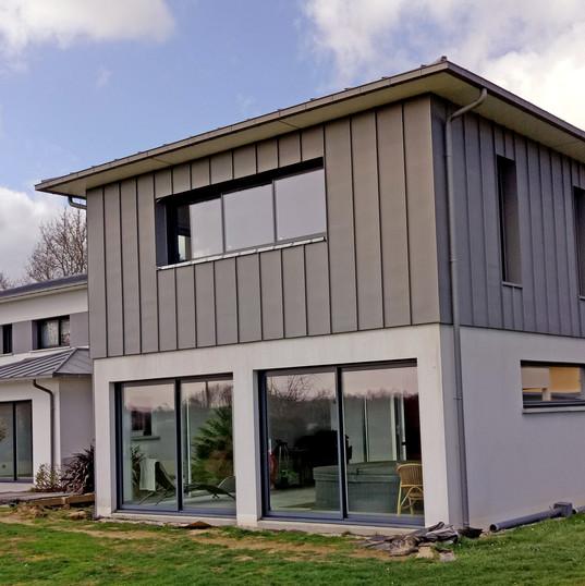 Création fenêtres et portes fenêtres maison neuve rennes