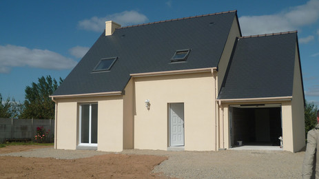 Maison neuve et terrain