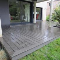 Création terrasse bois maison Rennes