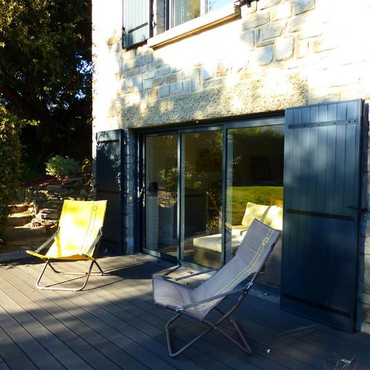 Installation volets et fenêtres maison Rennes