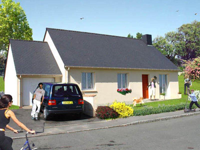 Maison neuve Bretagne