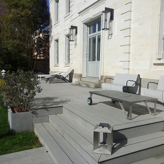 Créateur terrasse sur mesure Rennes