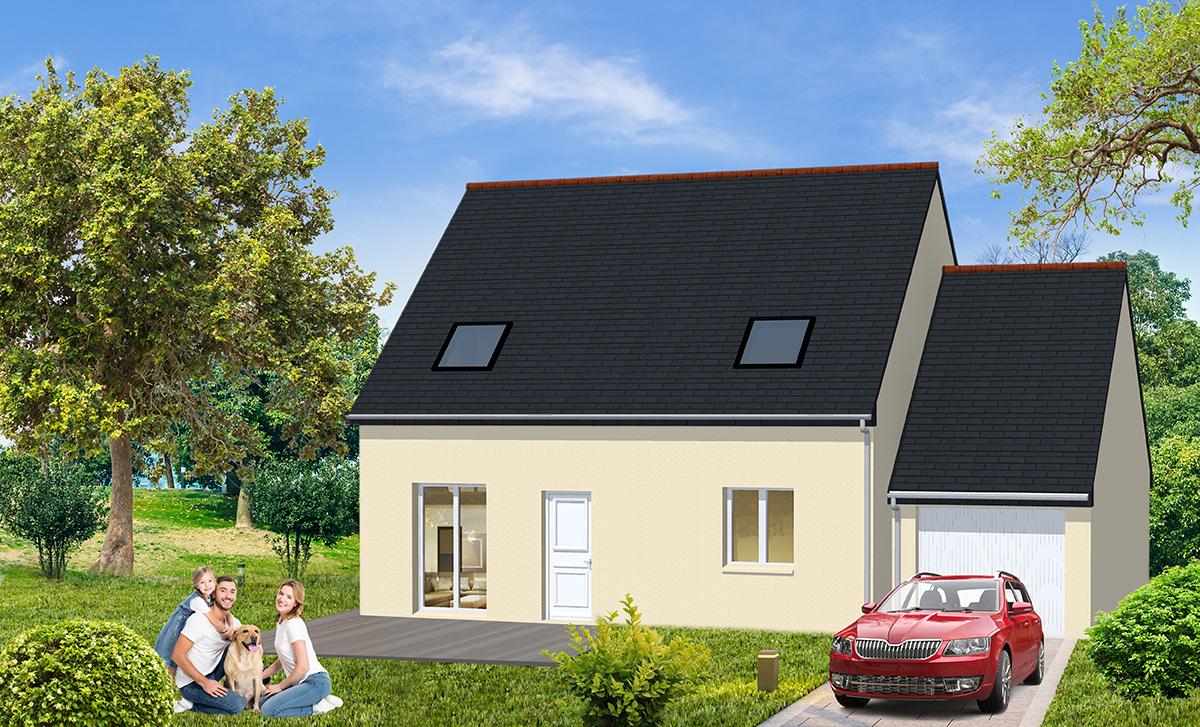 Construction d'une maison neuve prix