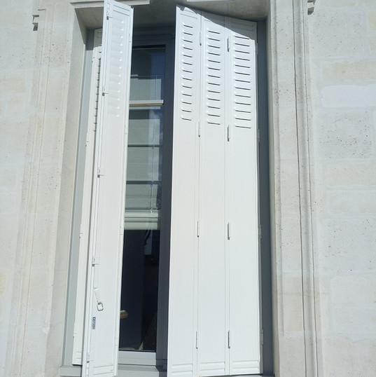 Remplacemnt volets appartement Rennes