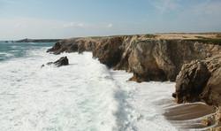 Quiberon falaise terne