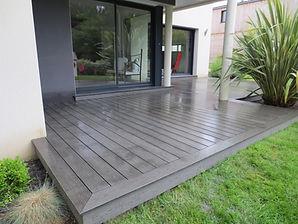 Terrasse-bois-sur-mesure maison Rennes