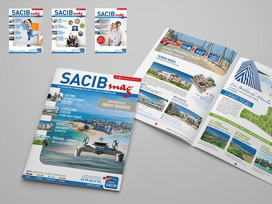 Flyer, dépliant, brochure, Saint-Malo