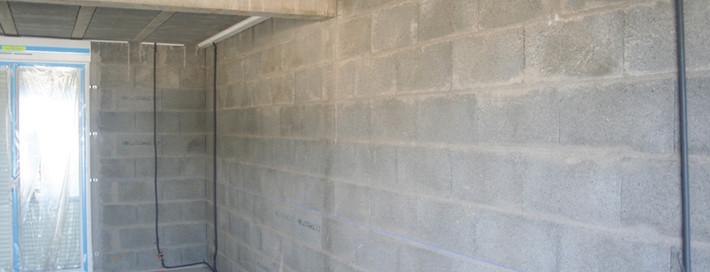 Pose des menuiseries construction maison