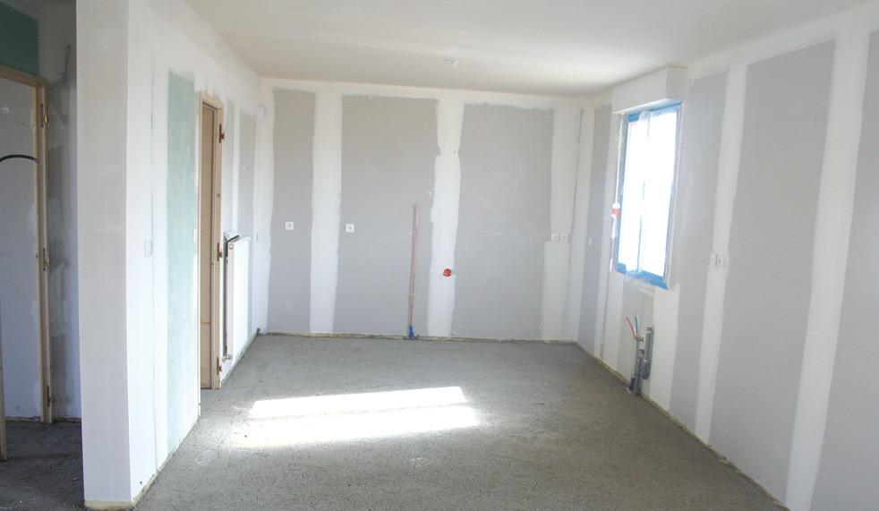 Placage intérieur maison neuve