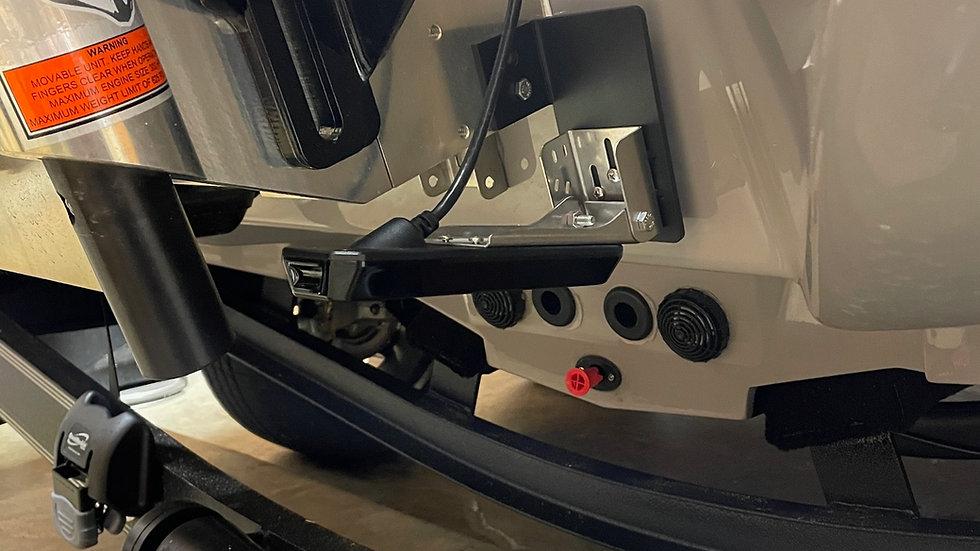 Powder coated Universal Transducer Bracket