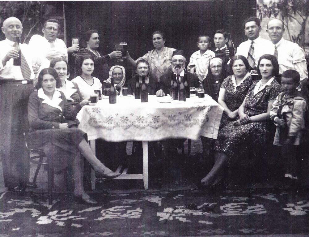 Родина Готенберг, архівне фото