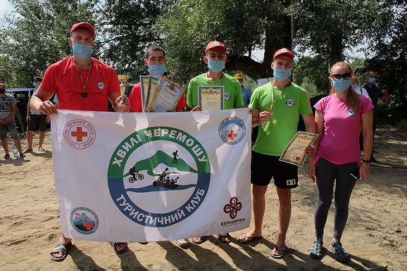 Змагались волонтери-рятувальники