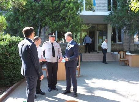 У Новоселиці голова ОДА та керівники правоохоронних органів провели прийом громадян