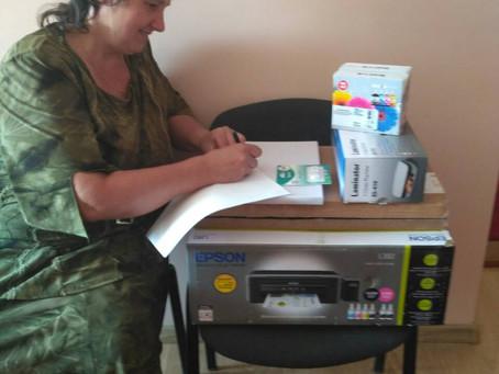 Новоселицька міськрада придбала оргтехніку для шкіл
