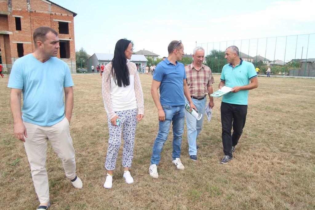 У Маршинцях відкрили новий стадіон