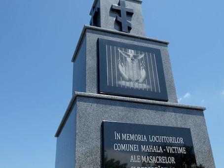 У с. Остриця відкрили пам'ятник жертвам тоталітарного режиму: фото, відео