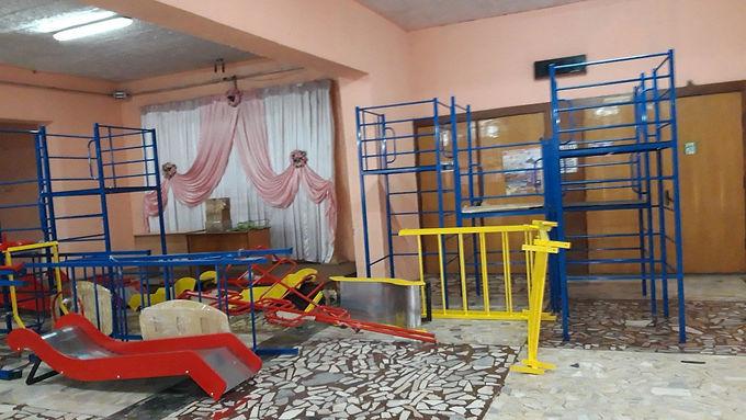 Діти Мамалигівської громади отримали ігрові комплекси