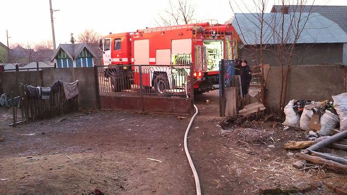 Пожежа в Маршинцях: двоє травмованих