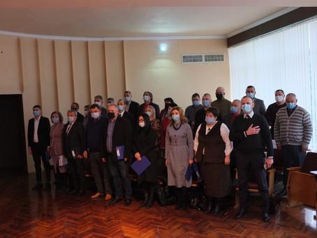 Відбулося І-е пленарне засідання Новоселицької міської ради VІІІ скликання