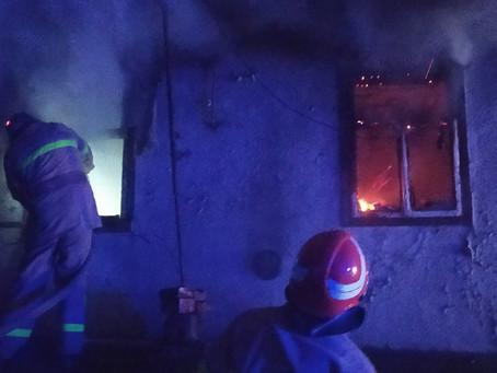 Пожежа у Щербинцях - загинула людина