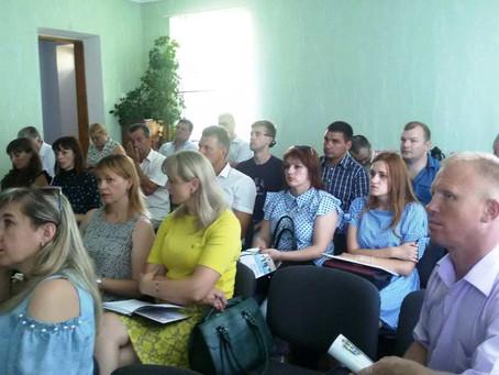 Гості з Тернопільщини вивчали досвід Новоселиці щодо реалізації міжнародних проектів