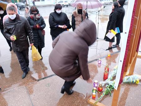 У Новоселиці відзначили День Гідності та Свободи