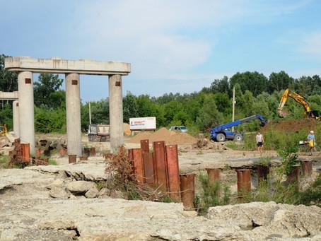 У Маршинцях розпочали будівництво нового мосту