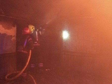 Жителька Тарасівців отруїлася чадним газом, гасячи пожежу