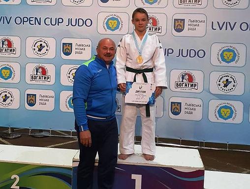 Микола Мудряк – переможець Lviv open cup judo