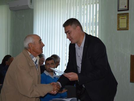 На засіданні виконкому дякували керівникам ветеранських організацій