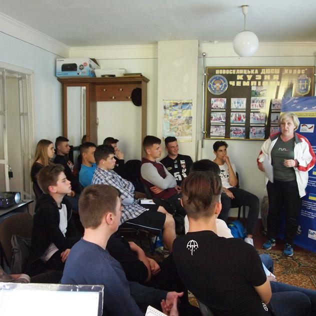 Навчання волонтерів