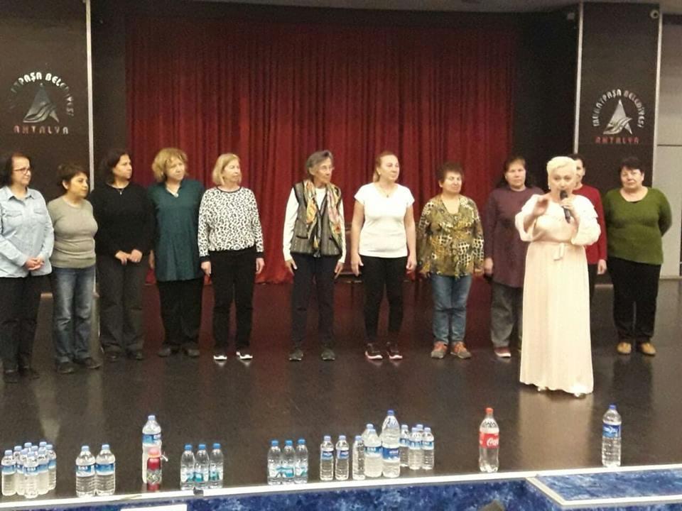 Семінар і біоенерготерапія в Анталії. Конференц-зал в Муратпаша Беледіе. Вперше в Туреччині.