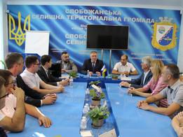Новосельчани вивчали досвід однієї з найкращих громад Слобожанщини