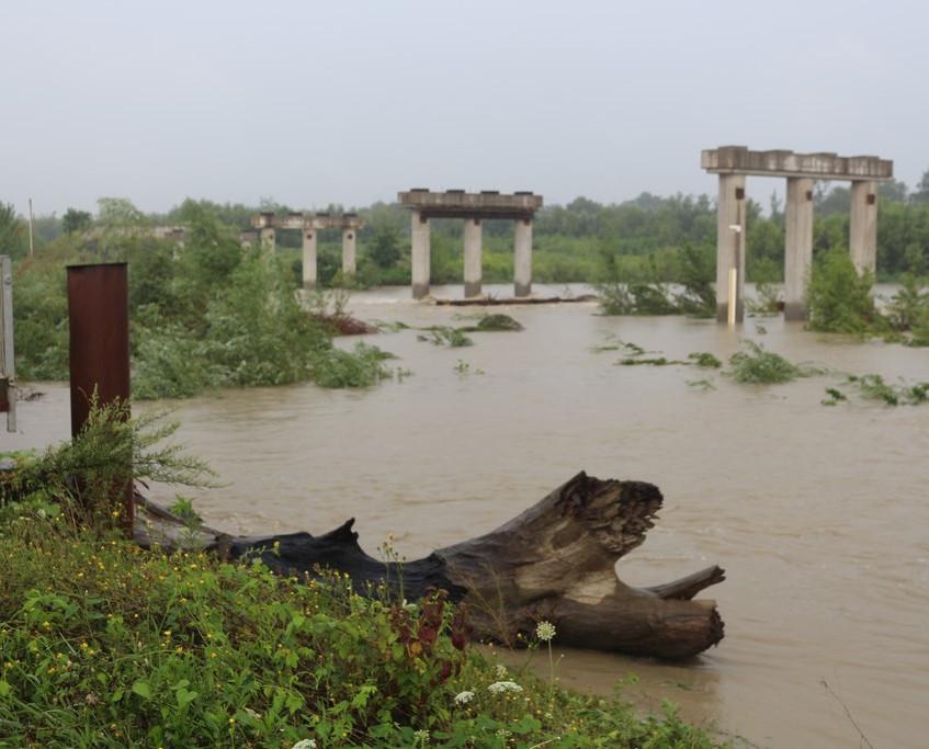 Рівень вод в Пруту знижується