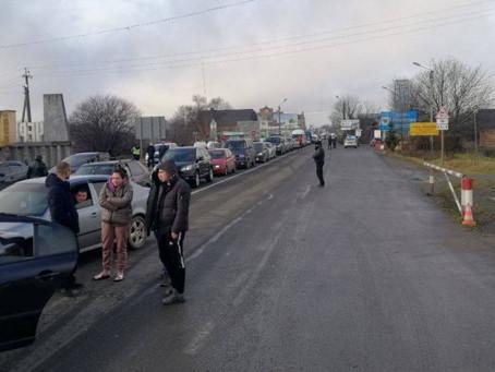У двох селах відбулися акції протесту проти підняття цін на газ