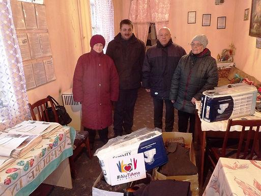 Благодійники з Італії допомагають землякам