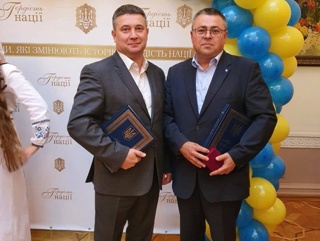 Голови громад Чернівецької області отримали відзнаки «Гордість нації»