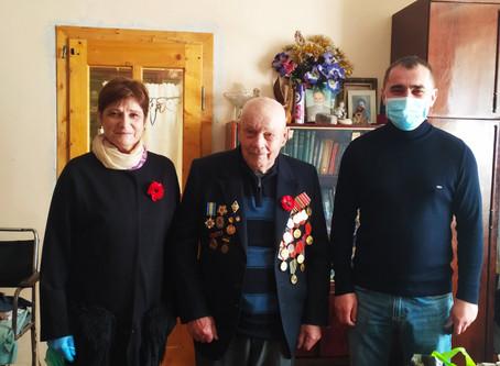 Привітали ветеранів