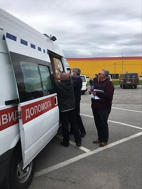 Допомогу для районних лікарень роздавали у Чернівцях