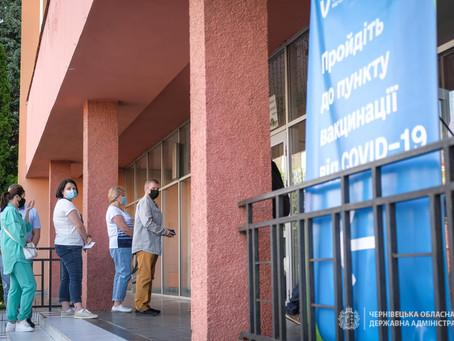 У Чернівецькому центрі масової вакцінації - без ажіотажу