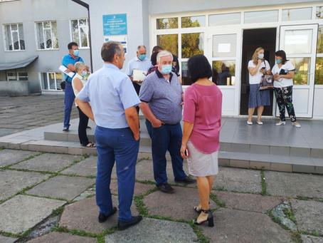 Тривають огляди навчальних та дошкільних закладів Новоселицької ОТГ