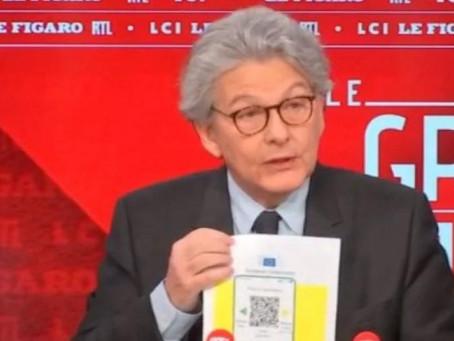 Сертифікати вакцинації проти COVID-19 для Євросоюзу з'являться вже у червні
