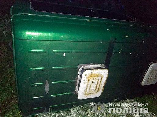 Восьмирічна дівчинка травмувалася в аварії біля Магали