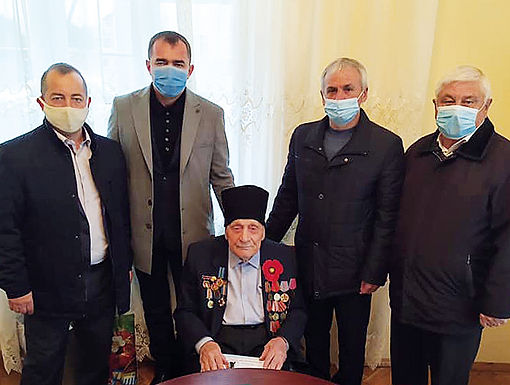 Житель Тарасівців відзначає 100-річний ювілей