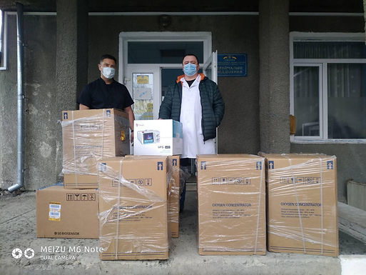 Новоселицька лікарня отримала медобладнання