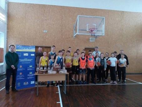Змагання зі стрітболу в рамках проекту